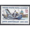 #3001 32c U.S. Navel Academy 1995 Mint NH