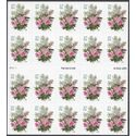 #3836 37c Lilacs & Roses Complete Booklet Pane of 20 2004 Mint NH