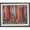 #4378 $4.95 Priority Mail Redwood Forest 2009 Mint NH