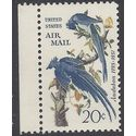 Scott C 71 20c US Air Mail John James Audubon 1967 Mint NH