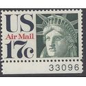 Scott C 80 17c US Air Mail Statue of Liberty 1971 Mint NH