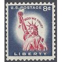 #1042 8c Statue of Liberty 1958 Mint NH