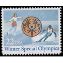 #2142 22c Winter Special Olympics 1985 Mint NH