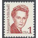 #2168 1c Great Americans Margaret Mitchell 1986 Mint NH