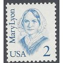 #2169 2c Great Americans Mary Lyon 1987 Mint NH