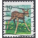 #2479 19c Flora and Fauna - Fawn 1991 Used