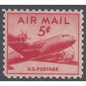 Scott C 33 5c US Airmail DC-4 Skymaster 1947 Mint NH
