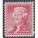 #1033 2c Liberty Issue Thomas Jefferson 1954 Mint NH