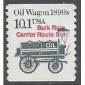 #2130a 10.1c Oil Wagon 1890s Coil Single 1988 Mint NH