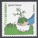 #4524k (44c Forever) Go Green Plant Trees 2011 Mint NH