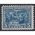 # 550 5c Pilgrim Tercentenary Signing of the Compact 1920 Mint NH