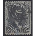 #  98 15c Abraham Lincoln 1868 Used