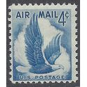 Scott C 48 US Air Mail Eagle in Flight 1954 Mint NH