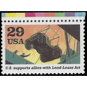 #2559c 29c WWII Lend-Lease Act 1991 Mint NH