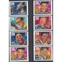#2731-2737 29c American Music Series Cpl Set of 8 Booklet Singles 1993 Mint NH