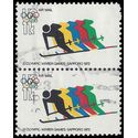 Scott C 85 11c US Air Mail 11th Olympic Games 1972 Used Pair